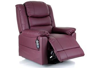 Toronto leather riser recliner