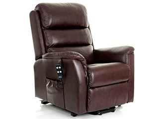 Bergen Leather Riser Recliner