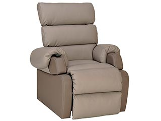 Cocoon Leather Riser Recliner