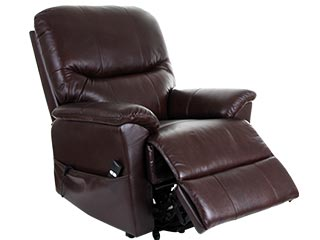 Montreal Leather Riser Recliners
