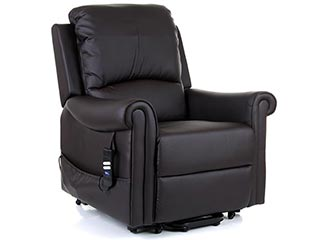 Warwick Leather Riser Recliners