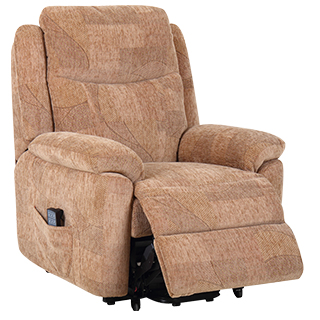 single motor riser recliners