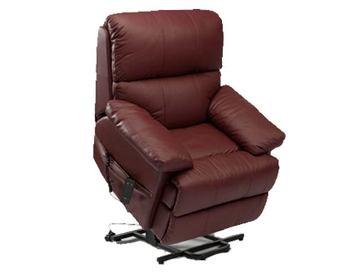 Lars Leather Riser Recliner
